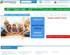 strona MamaGama.pl