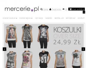 strona Mercerie.pl
