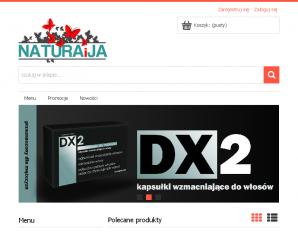 strona NaturaiJa.pl
