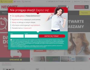 strona NEONET.pl