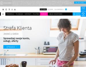 strona Netia.pl