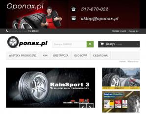 strona Oponax.pl