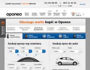strona Oponeo.pl