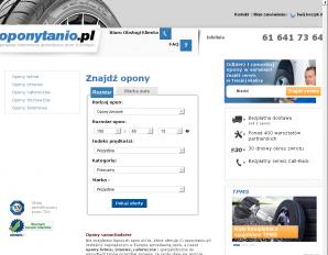 strona OponyTanio.pl