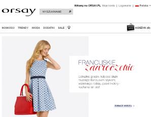 strona Orsay.com