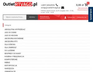 strona OutletRTVAGD.pl