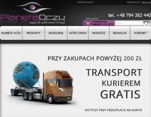 strona PlanetaOczu.pl