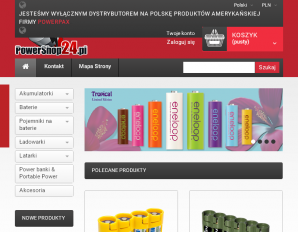 strona PowerShop24.pl