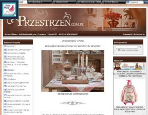 strona Przestrzen.com.pl