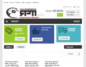 strona RPMotorSport.pl