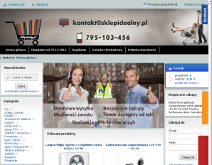 strona SklepIdealny.pl