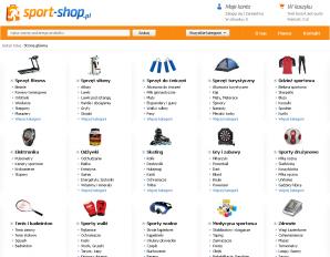 strona Sport-shop.pl