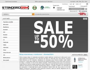 strona StandardGSM.com