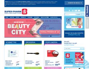 strona SuperPharm.pl