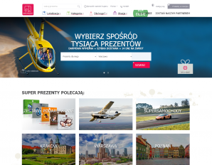 strona SuperPrezenty.pl