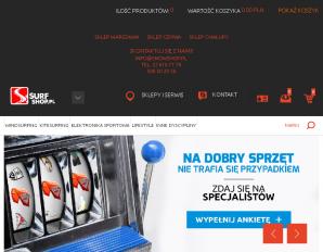 strona SurfShop.pl