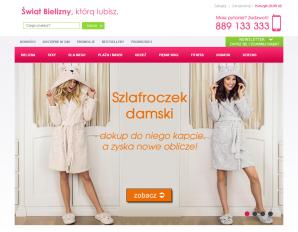 strona SwiatBielizny.pl