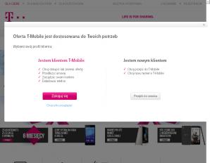 strona T-Mobile.pl