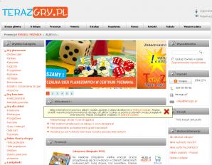 strona TerazGry.pl
