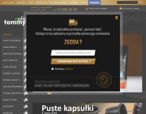 strona TommyCafe.pl