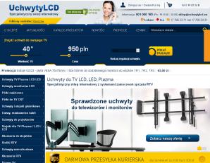 strona UchwytyLCD.eu