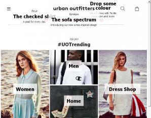 strona UrbanOutfitters.com