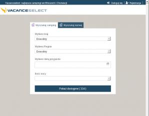 strona VacanceSelect.pl