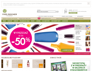 strona Yves-Rocher.com.pl