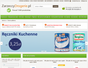 strona ZarzeccyDrogerie.pl