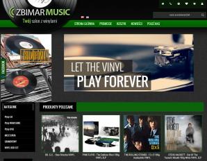 strona ZbimarMusic.pl