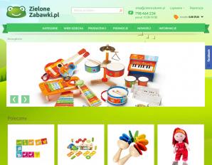 strona ZieloneZabawki.pl