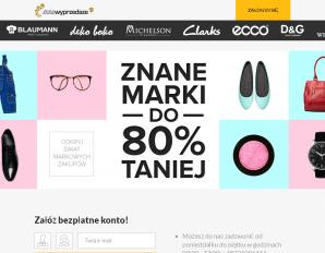 strona ZloteWyprzedaze.pl