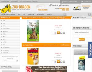strona Zoo-Dragon.pl
